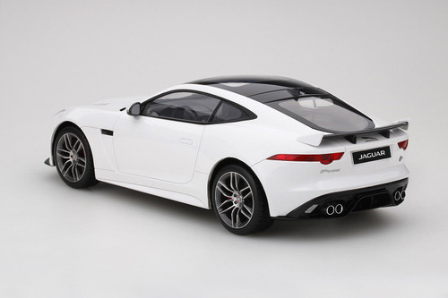 1/18 TSM Top Speed Jaguar F-Type FType R Coupe (White) Resin Car Model