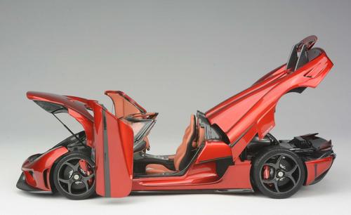 1/18 Frontiart Koenigsegg Regera (Red) Full Open Resin Model