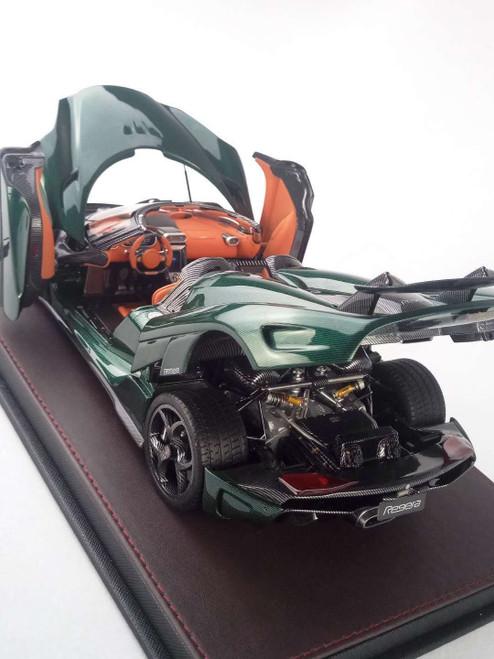 1/18 Frontiart Koenigsegg Regera (Green) Full Open Resin Model