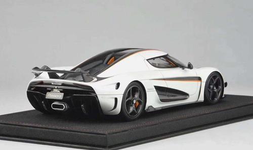 1/18 Frontiart Avanstyle Koenigsegg Regera (White) Resin Car Model
