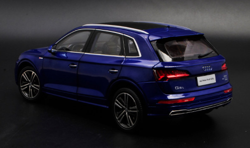 1/18 Dealer Edition 2018 Audi Q5 Q5L SQ5 (Blue) Diecast Car Model
