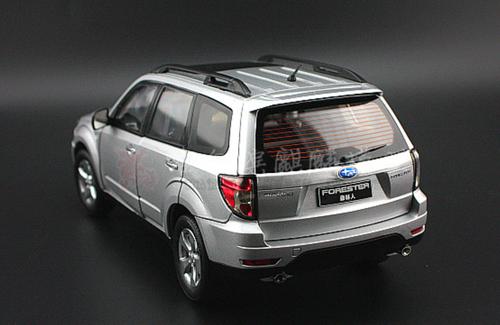1/18 Dealer Edition Subaru Forester 3rd Generation (SH, 2009–2012) (Silver) Diecast Car Model