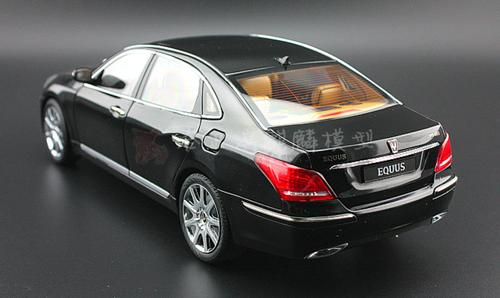 1/18 Dealer Edition Hyundai EQUUS (Black) Diecast Car Model