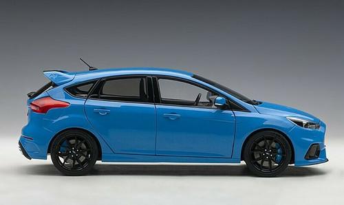 1/18 AUTOart Ford Focus RS (Blue) Diecast Car Model 72953