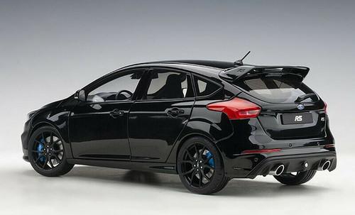 1/18 AUTOart Ford Focus RS (Black) Diecast Car Model 72952