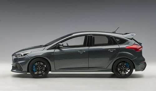 1/18 AUTOart Ford Focus RS (Grey) Diecast Car Model 72954
