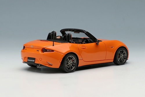 1/43 Make Up Makeup Mazda MX-5 MX5 Miata (Orange w/ Black Roof) Resin Car Model