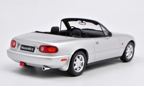 1/18 OTTO Mazda MX-5 MX5 Miata First Generation (NA) (Silver) Resin Car Model Limited 999