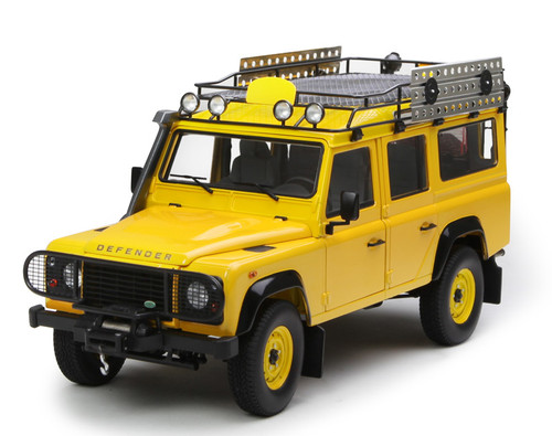 1/18 Century Dragon Land Rover Defender 110 (Yellow) Diecast Car Model