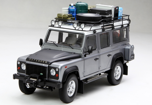 1/18 Century Dragon Land Rover Defender 110 (Grey) Diecast Car Model