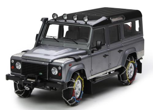 1/18 Century Dragon Land Rover Defender 110 w/ Snowchain (Grey) Diecast Car Model