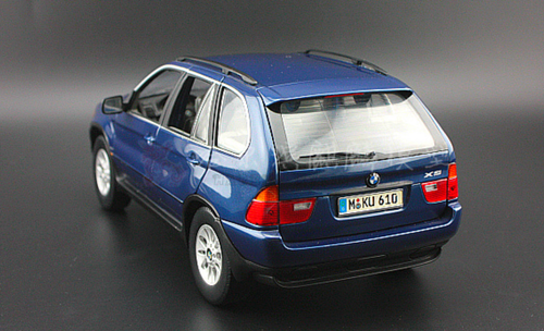 1/18 Kyosho BMW E53 X5 (Blue) Diecast Car Model