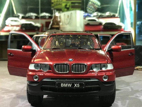 1/18 Kyosho BMW E53 X5 (Red) Diecast Car Model