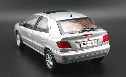1/18 Dealer Edition Citroen Xsara 2.0 (Silver) Diecast Car Model