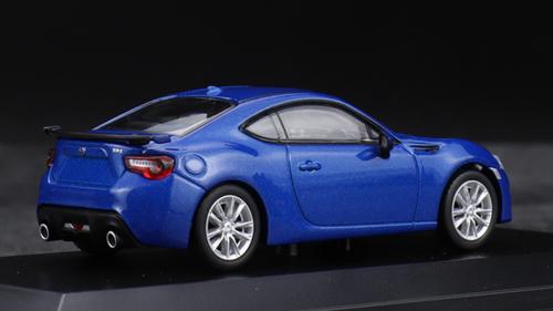 1/64 Kyosho Subaru BRZ BR-Z GT (Blue) Car Model