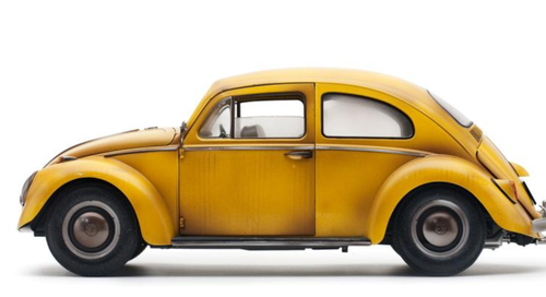 1/12 Sunstar 1961 Volkswagen VW Beetle Transformer Edition (Yellow) Diecast Car Model Limited
