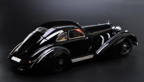 1/18 KK-Scale 1936 / 1938 Mercedes-Benz Mercedes 540K (Black) Diecast Car Model