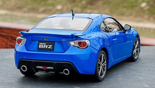 1/18 AUTOart Subaru BRZ BR-Z (Blue) Diecast Car Model 78691