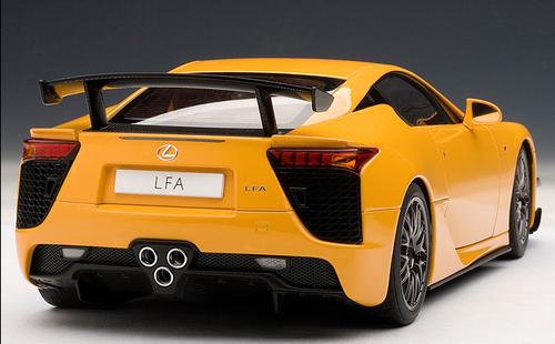 1/18 AUTOart Lexus LFA Nurburgring Package (Orange) Diecast Car Model 78836