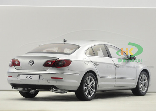 1/18 Dealer Edition Volkswagen VW CC (Silver) Diecast Car Model