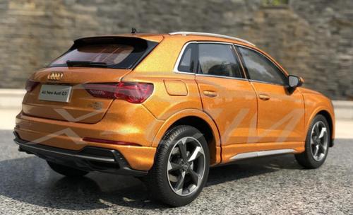 1/18 Dealer Edition 2020 Audi Q3 (Orange) Diecast Car Model