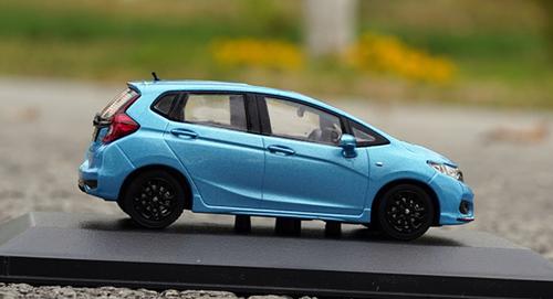 1/43 Dealer Edition Honda Fit (Blue) Diecast Car Model