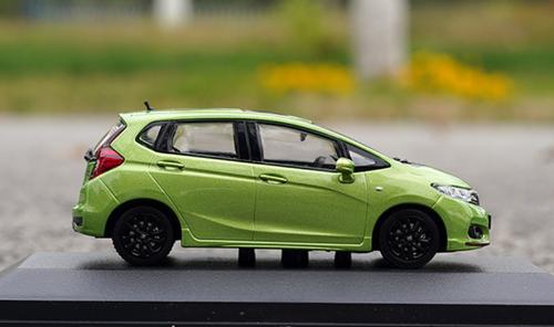 1/43 Dealer Edition Honda Fit (Green) Diecast Car Model
