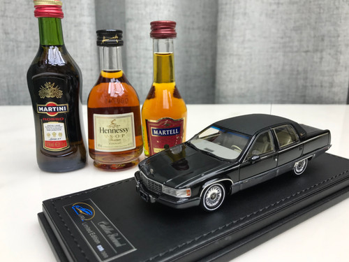 1/43 VAV 1993 Cadillac Fleetwood Brougham (Black) Resin Car Model Limited