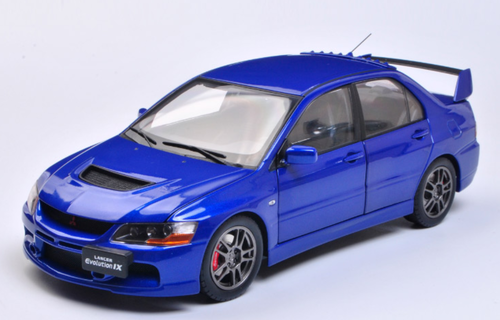 1/18 Super A SuperA Mitsubishi Evo 9 Evo9 Evo IX 9th Generation (Blue) Diecast Car Model Limited