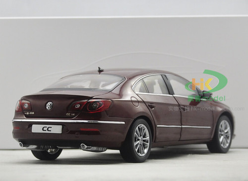 1/18 Dealer Edition Volkswagen VW CC (Dark Red) Diecast Car Model