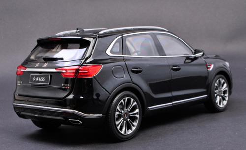 1/18 Dealer Edition Hongqi HS5 (Black) Diecast Car Model
