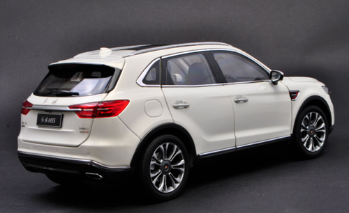 1/18 Dealer Edition Hongqi HS5 (White) Diecast Car Model