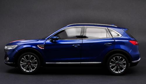 1/18 Dealer Edition Hongqi HS5 (Blue) Diecast Car Model