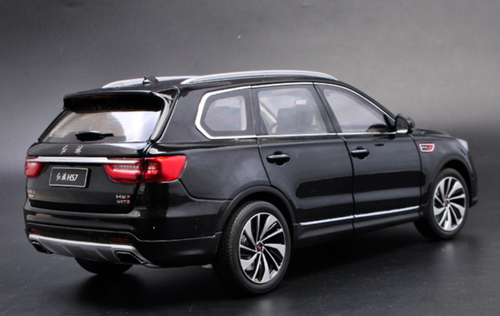 1/18 Dealer Edition Hongqi HS7 (Black) Diecast Car Model