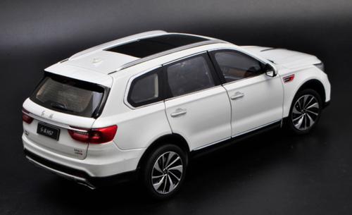 1/18 Dealer Edition Hongqi HS7 (White) Diecast Car Model