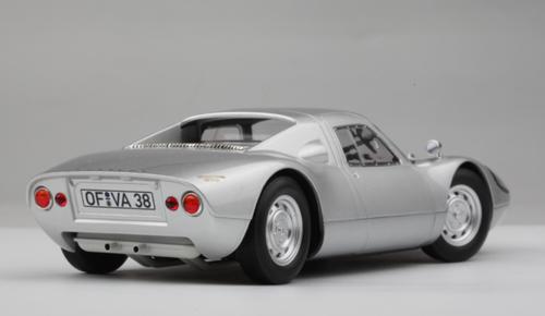 1/18 Norev 1964 Porsche 904 GTS (Silver) Diecast Car Model