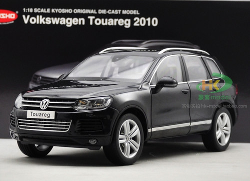 1/18 Kyosho 2010 Volkswagen VW Touareg (Black) Diecast Car Model