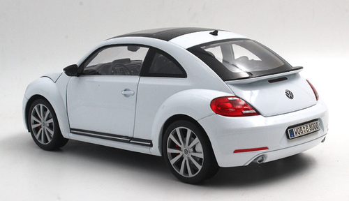 1/18 Welly FX Volkswagen VW Beetle (White) Diecast Car Model