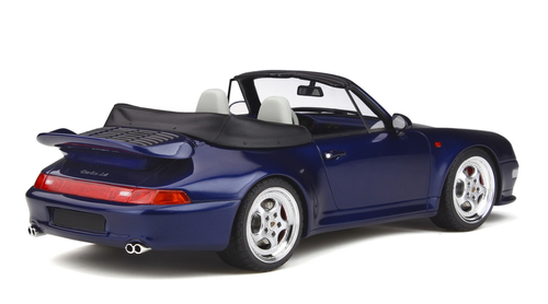 1/18 GT Spirit GTSpirit Porsche 911 (993) Turbo Cabriolet (Blue) Resin Car Model