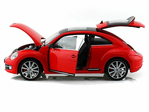 1/18 Welly FX Volkswagen VW Beetle (Red) Diecast Car Model