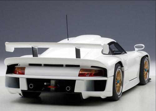1/18 AUTOart PORSCHE 911 Carrera GT1 1997 PLAIN BODY VERSION (WHITE) Diecast Car Model 89771