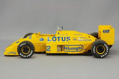 1/18 AUTOart LOTUS 99T HONDA F1 JAPANESE GP 1987 A.SENNA #12 Diecast Car Model 88727