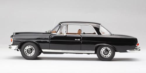 1/18 Norev 1969 Mercedes-Benz MB 280 SE 280SE Coupe (Black) Diecast Car Model