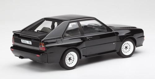 1/18 Norev 1985 Audi Sport Quattro (Black) Diecast Car Model