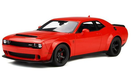 1/18 GT Spirit GTSpirit Dodge Challenger Demon (Red) Resin Car Model