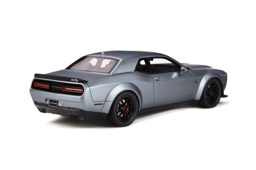 1/18 GT Spirit GTSpirit Dodge Challenger SRT Hellcat Redye (Silver Grey) Resin Car Model