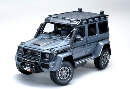 1/18 Almost Real Almostreal Mercedes-Benz Mercedes G-Class G-Klasse G550 Brabus Adventure 4x4 (Grey) Diecast Car Model Limited