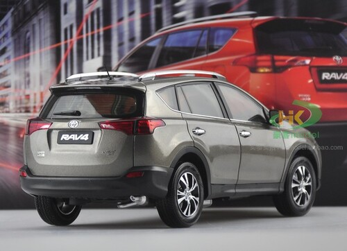 1/18 Dealer Edition 4th generation (XA40; 2012–2018) Toyota RAV4 RAV 4 (Grey) Diecast Car Model