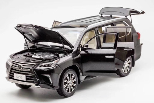 1/18 Kyosho Lexus LX570 (Black) Diecast Car Model