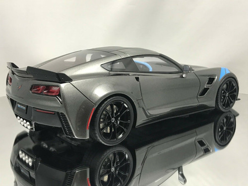1/18 GT Spirit GTSpirit Chevrolet Chevy C7 Corvette Grand Sport (Grey) Resin Car Model
